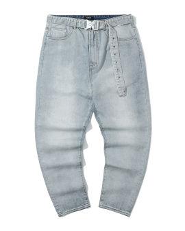 Safety buck belt jeans