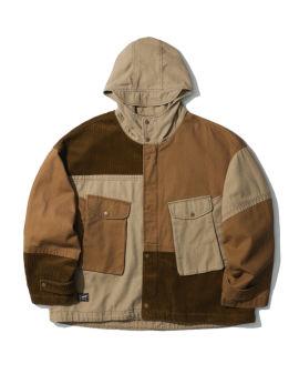 Patchwork light jacket