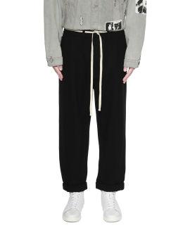 Shoelace chino pants