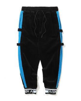 Velcro side tape sweatpants