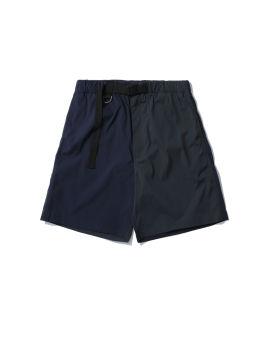 Nylon patch shorts