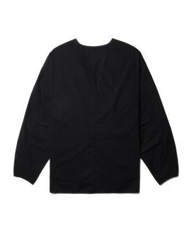 Nylon collarless shirt