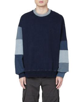 Multi panel sleeve sweatshirt