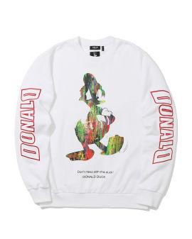 X Disney Donald Duck graphic print sweatshirt