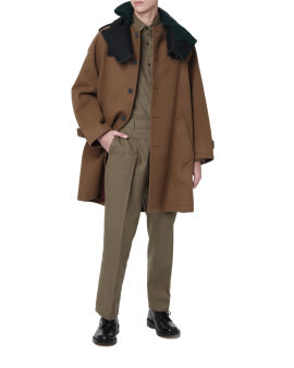 Spliced coat