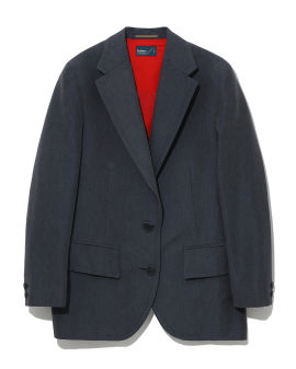 Layered combined blazer