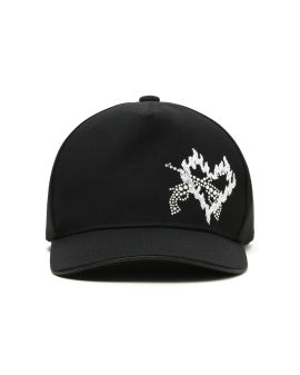 Embellished fire crossgun cap