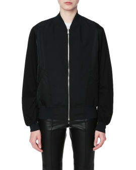 Zip-up embroidered jacket