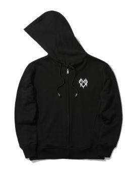 Zip peace hoodie