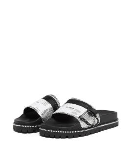 Label patch slippers