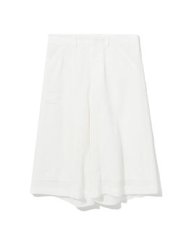 Cloqué relaxed shorts