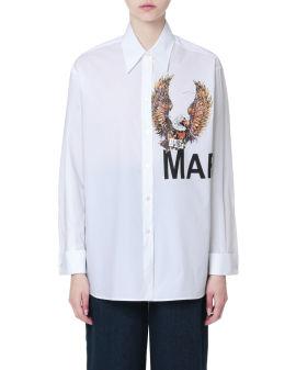 Eagle button-up shirt