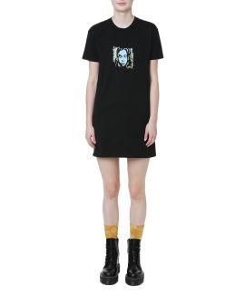 Graphic print tshirt dress