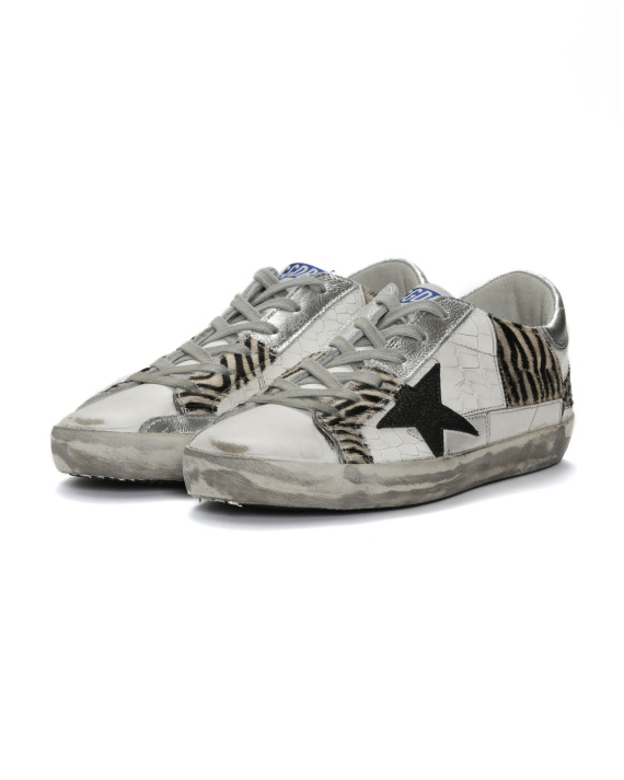 ad9f4d5aaca Golden Goose Superstar mixed media sneakers