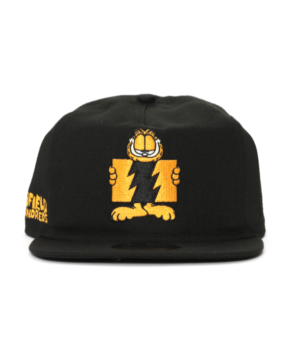 THE HUNDREDS X Garfield Flag embroidered snapback cap 864b59d149a8