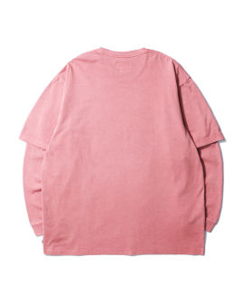 Loose fit layered tee
