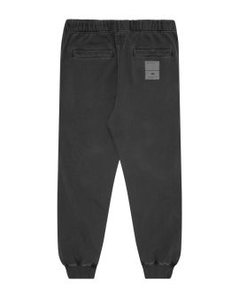 Lettering embroidered sweatpants
