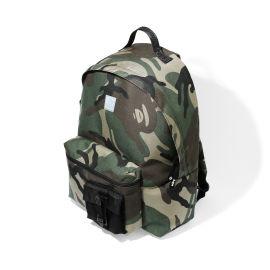 Camo print backpack