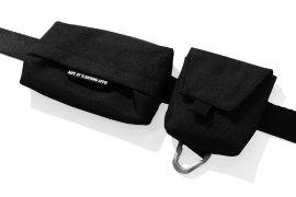 Pouch buckle belt