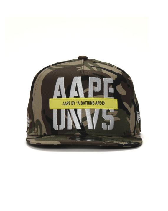 a1c0f8c4db2 Aape X New Era Nylon 9 Fifty logo embroidered camo print snapback cap
