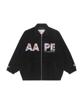 Zip-up logo jacket