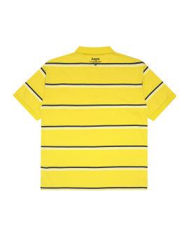 Ape Face striped polo shirt