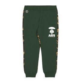 Ape Face camo panelled sweatpants