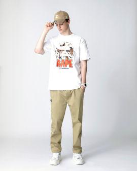 Logo chino pants