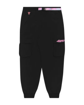 Belted sweatpants