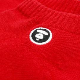 Logo patch socks