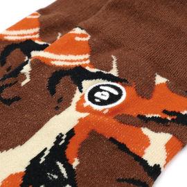 Logo camo socks