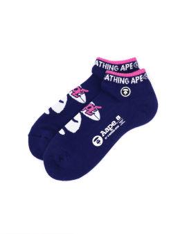 Ape Face intarsia socks