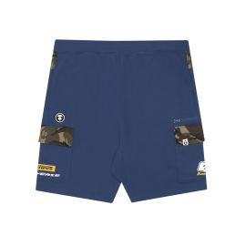 Logo cargo shorts