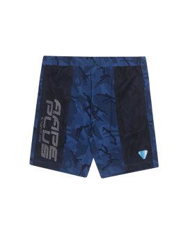 Panelled shorts