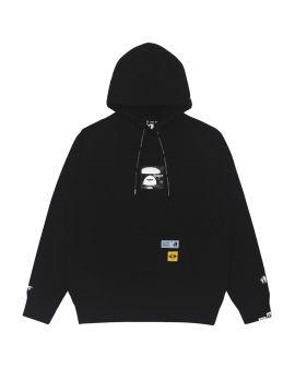Logo badge hoodie