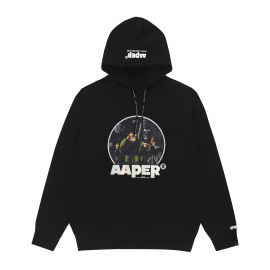 Ape Face graphic print hoodie