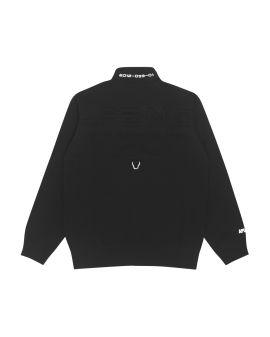 Ape Face zip-up sweater