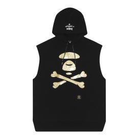 Logo hooded tank top