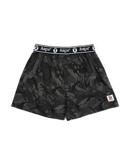 Logo waistband camo boxer
