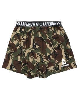 Camo print boxer