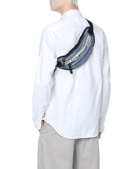 Logo tape waist bag