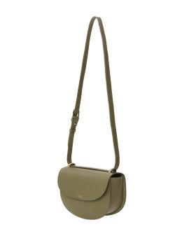 Genève leather shoulder bag