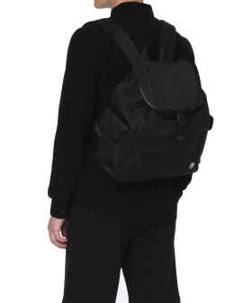Logo badge backpack