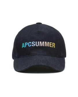 Summer logo denim cap