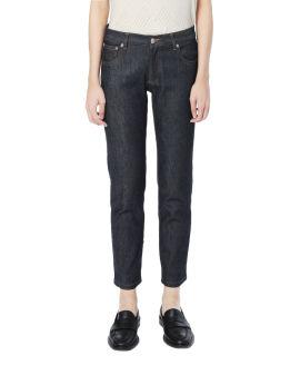 Etroit Court jeans