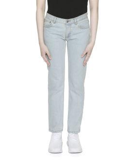 Étroit Court jeans