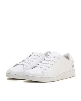 Minimal leather sneakers