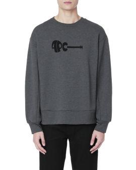 Logo graphic sweatshirt