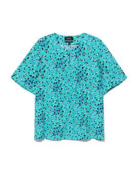 Isabel floral print blouse