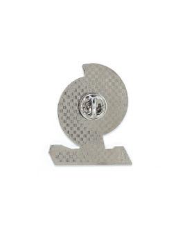 Logo plaque pin